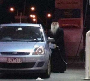 Strange People Seen at Gas Stations (25 photos) 8
