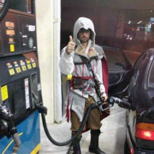 Strange People Seen at Gas Stations (25 photos) 9