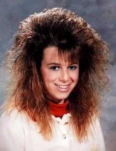 Eccentric Hairstyles of the 1980s (25 photos) 16