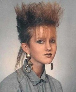 Eccentric Hairstyles of the 1980s (25 photos) 17