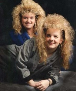 Eccentric Hairstyles of the 1980s (25 photos) 19