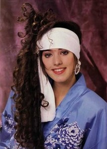 Eccentric Hairstyles of the 1980s (25 photos) 22