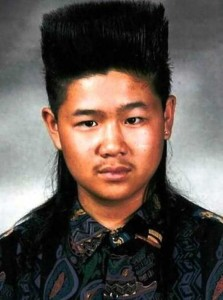Eccentric Hairstyles of the 1980s (25 photos) 25