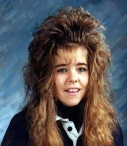 Eccentric Hairstyles of the 1980s (25 photos) 4