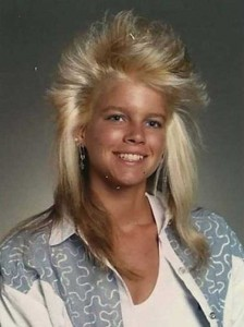 Eccentric Hairstyles of the 1980s (25 photos) 7
