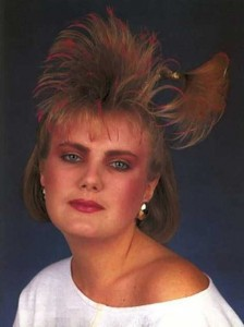 Eccentric Hairstyles of the 1980s (25 photos) 8