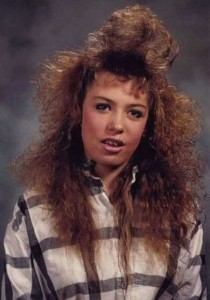 Eccentric Hairstyles of the 1980s (25 photos) 9