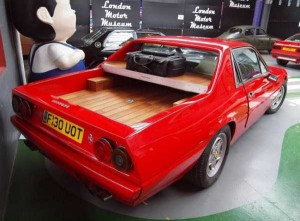 Ferrari 412 Converted Into a Pickup (11 photos) 2