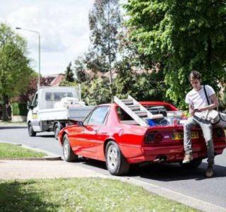 Ferrari 412 Converted Into a Pickup (11 photos)