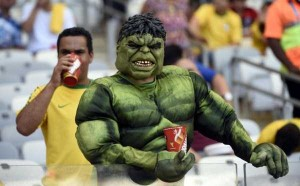 The Most Vivid Fans Spotted at the 2014 World Cup (38 photos) 19