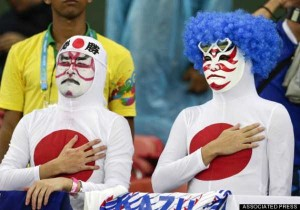 The Most Vivid Fans Spotted at the 2014 World Cup (38 photos) 25