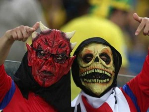 The Most Vivid Fans Spotted at the 2014 World Cup (38 photos) 27