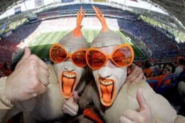 The Most Vivid Fans Spotted at the 2014 World Cup (38 photos) 34
