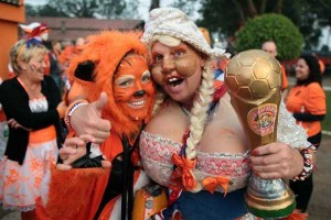 The Most Vivid Fans Spotted at the 2014 World Cup (38 photos) 38