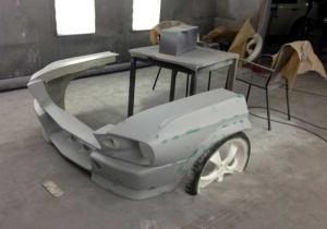 Fully Functional Couch Made From Ford Mustang (24 photos) 10