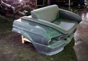 Fully Functional Couch Made From Ford Mustang (24 photos) 7
