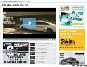 38 Hilariously Unfortunate Internet Ad Placements (38 photos) 35