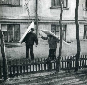 Rare Vintage Black and White Photos of Life in Russia (121 photos) 116