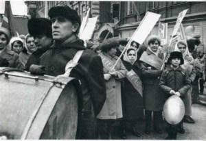 Rare Vintage Black and White Photos of Life in Russia (121 photos) 12