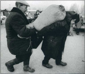 Rare Vintage Black and White Photos of Life in Russia (121 photos) 92