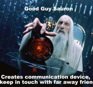 Sauron Is Actually a Good Guy (12 photos)