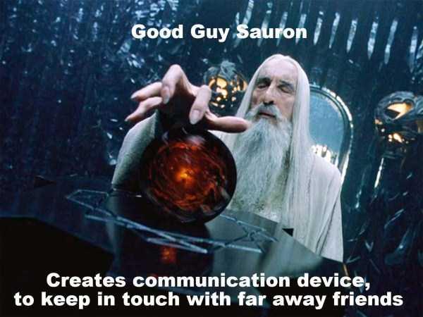 Sauron Is Actually a Good Guy (12 photos) 6