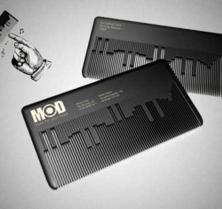 Some of The Most Creative Business Card Designs (30 photos)