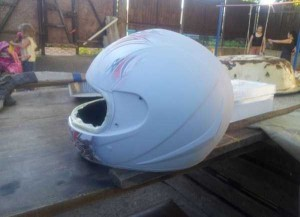 Custom Made Predator Motorcycle Helmet (49 photos) 21