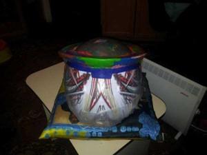 Custom Made Predator Motorcycle Helmet (49 photos) 3