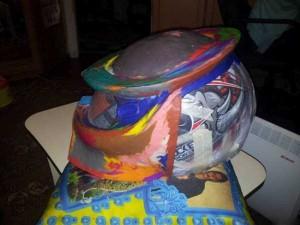 Custom Made Predator Motorcycle Helmet (49 photos) 4