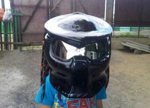 Custom Made Predator Motorcycle Helmet (49 photos) 43