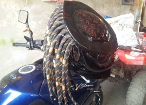 Custom Made Predator Motorcycle Helmet (49 photos) 45