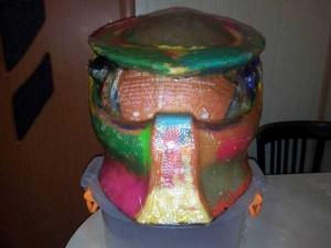 Custom Made Predator Motorcycle Helmet (49 photos) 5