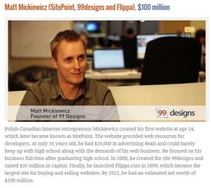 Young People Who Turned Their Websites Into a Fortune (10 photos) 7