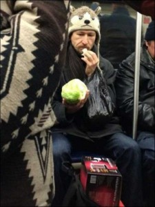 Subway is a Perfect Place For Weird People (30 photos) 12