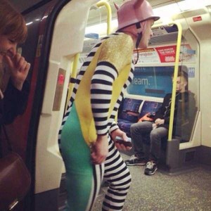 Subway is a Perfect Place For Weird People (30 photos) 16