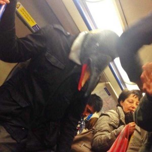 Subway is a Perfect Place For Weird People (30 photos) 22