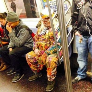 Subway is a Perfect Place For Weird People (30 photos) 23