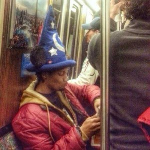Subway is a Perfect Place For Weird People (30 photos) 24