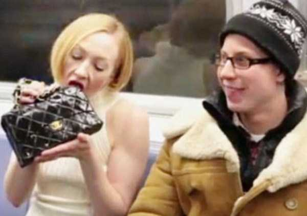 Subway is a Perfect Place For Weird People (30 photos) 27