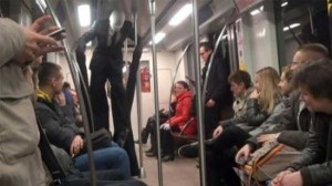 Subway is a Perfect Place For Weird People (30 photos) 29