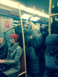Subway is a Perfect Place For Weird People (30 photos) 3