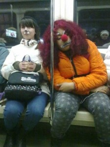 Subway is a Perfect Place For Weird People (30 photos) 4