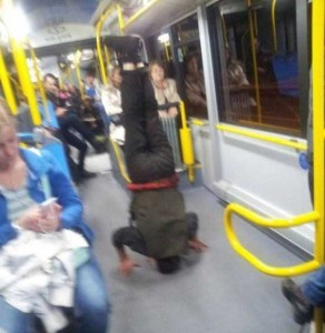 Subway is a Perfect Place For Weird People (30 photos) 8