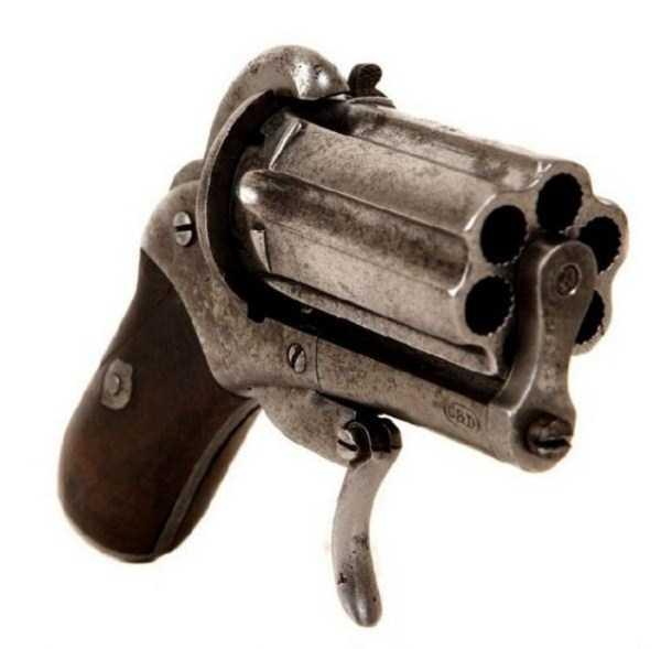 vintage-19th-century-revolver-4
