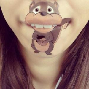 The Most Creative Lip Art You've Ever Seen (28 photos) 10