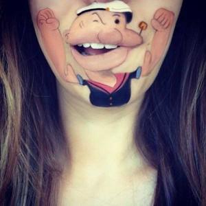 The Most Creative Lip Art You've Ever Seen (28 photos) 12