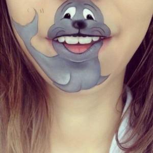 The Most Creative Lip Art You've Ever Seen (28 photos) 14
