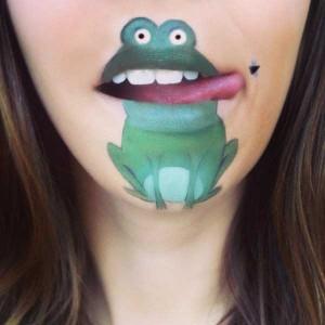The Most Creative Lip Art You've Ever Seen (28 photos) 2