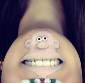 The Most Creative Lip Art You've Ever Seen (28 photos) 6